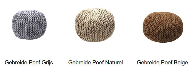 grijze-gebreide-poef-kopen-meubeltrend-nederland